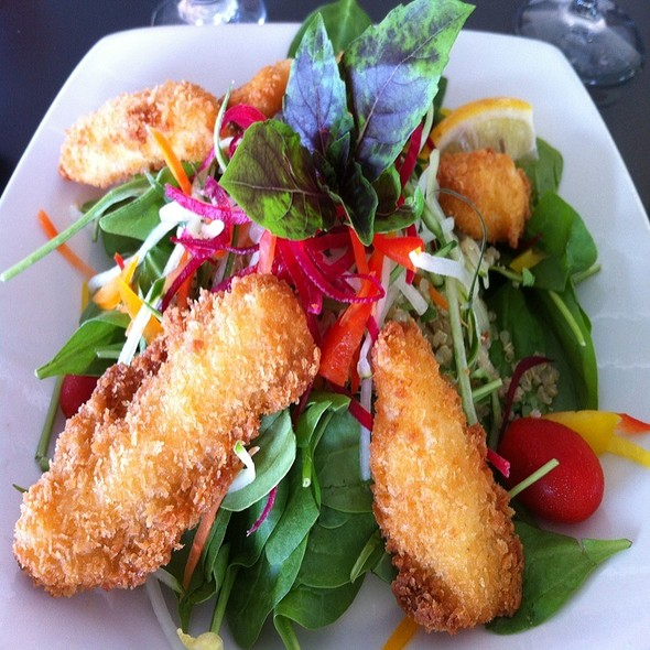 Fried Calamari Salad @ Seascape Restaurant