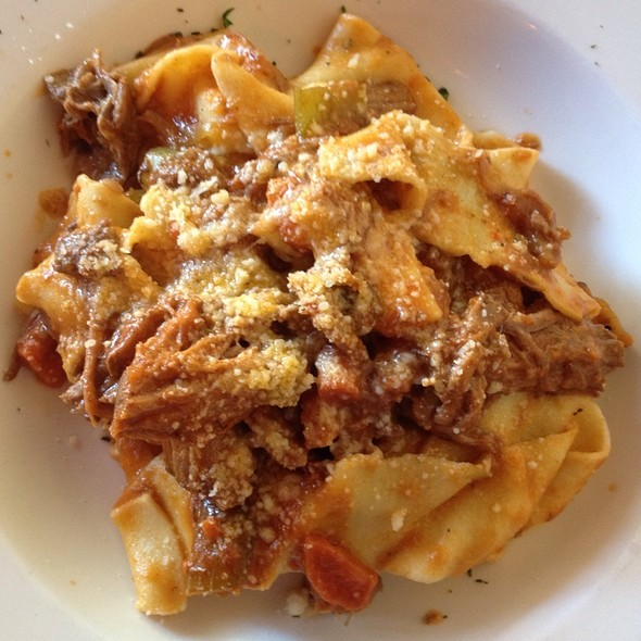Home Made Lamb Papardelle - Piazza Pellegrini, San Francisco, CA