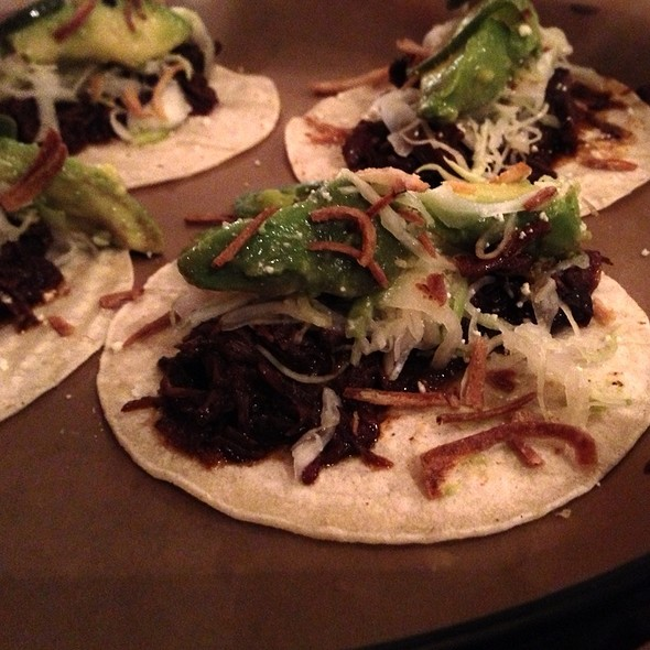 Beef Cheek Tacos @ La Carnita