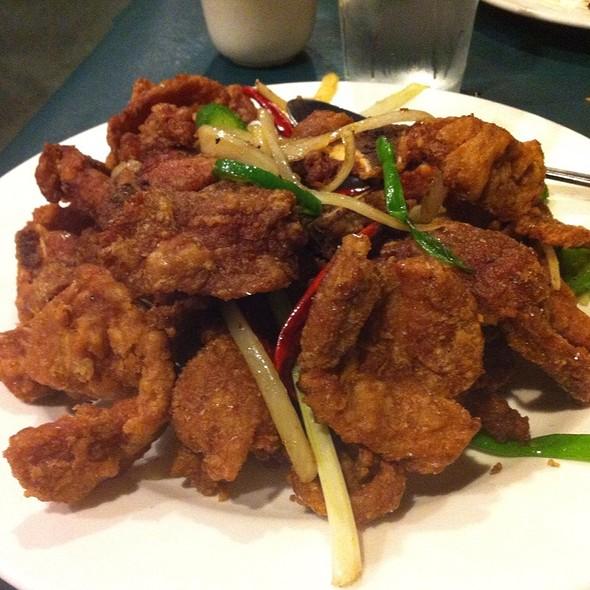 Salt and Pepper Pork Chops @ Chinese Szechuan Restaurant
