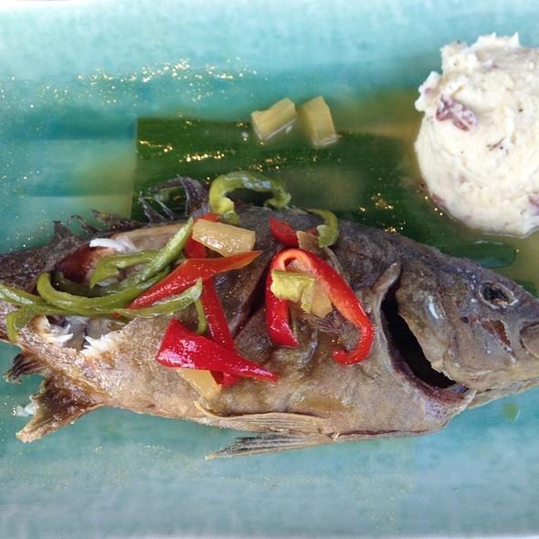 Fresh Whole Kampachi @ Haleiwa Joe's