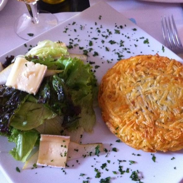 Batata Rosti De Bacalhau