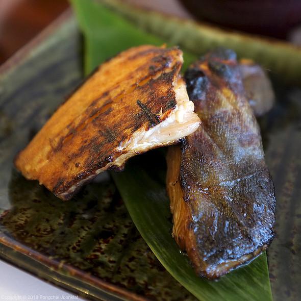 Charcoal Grilled Marinated Atka Mackerel | ปลาชิมาฮอกเกะหมักซอสย่างถ่าน