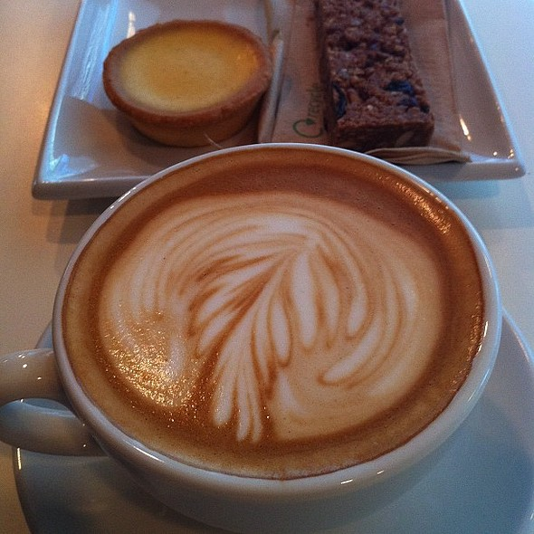Flat White @ Small Batch Coffee Roasters