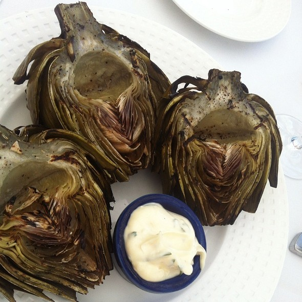 Grilled Artichokes @ Garfield's Restaurant