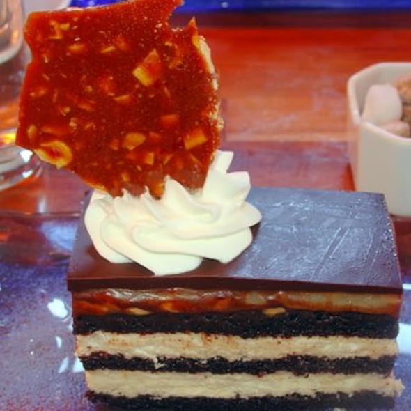 Chocolate Snickers Cake @ Jackson's Bar and Oven