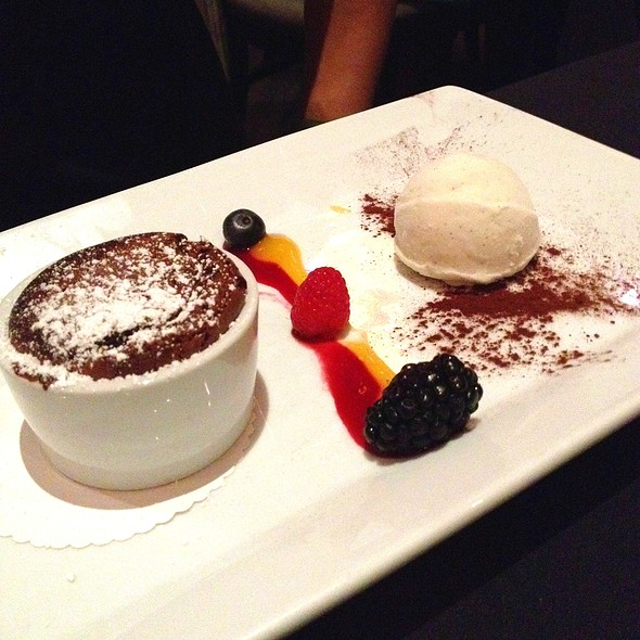 Molten Chocolate Eruption @ Masraffs
