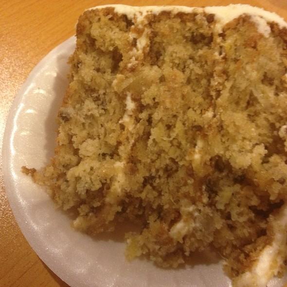 Hummingbird Cake @ Clint's Family Restaurant