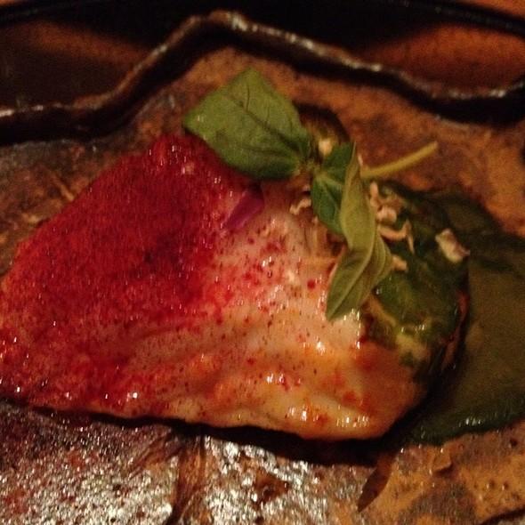 Grilled Chilean Seabass  @ brushstroke