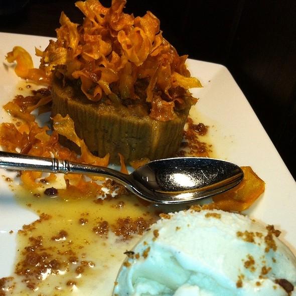 Sweet Potato Bread Pudding And Ice Cream