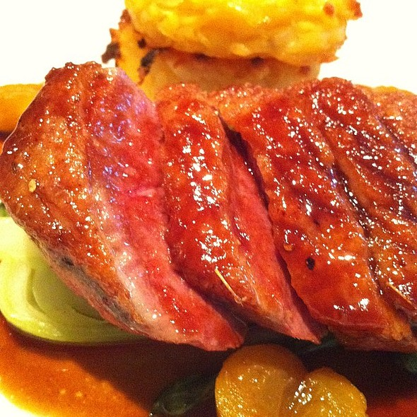 Duck Breast @ Ginger Dog