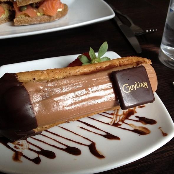 Chocolate Belgian Eclair