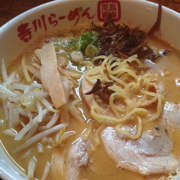 Miso Ramen @ Terakawa Ramen