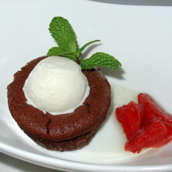 Chocolate Lava Cake @ Bushi -Tei Bistro
