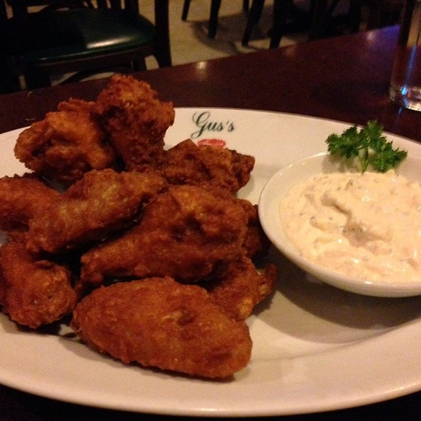 Chicken Wings @ Guss Restaurant
