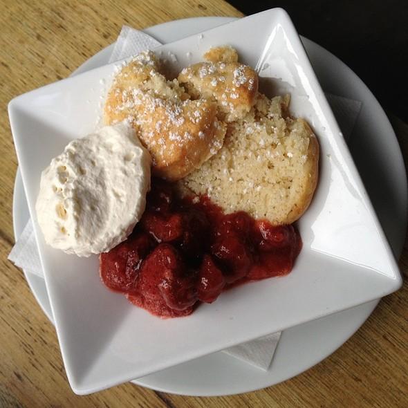 strawberry shortcake - Purple Cafe and Wine Bar - Kirkland, Kirkland, WA