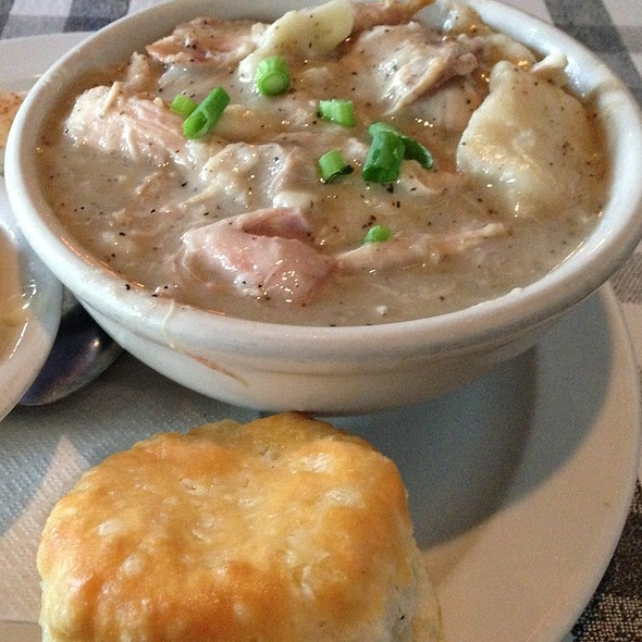Chicken and dumplings @ Dish