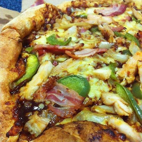 Texas BBQ Pizza @ Dominoes Pizza
