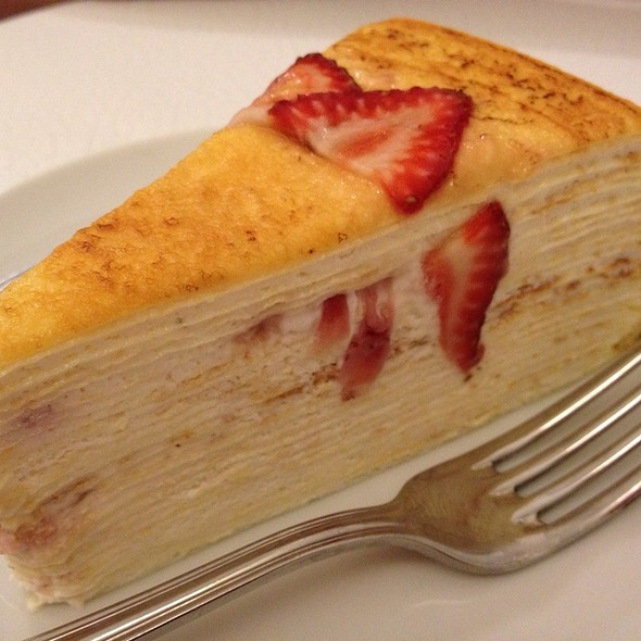Lady M Cake Strawberry Mille Crepe