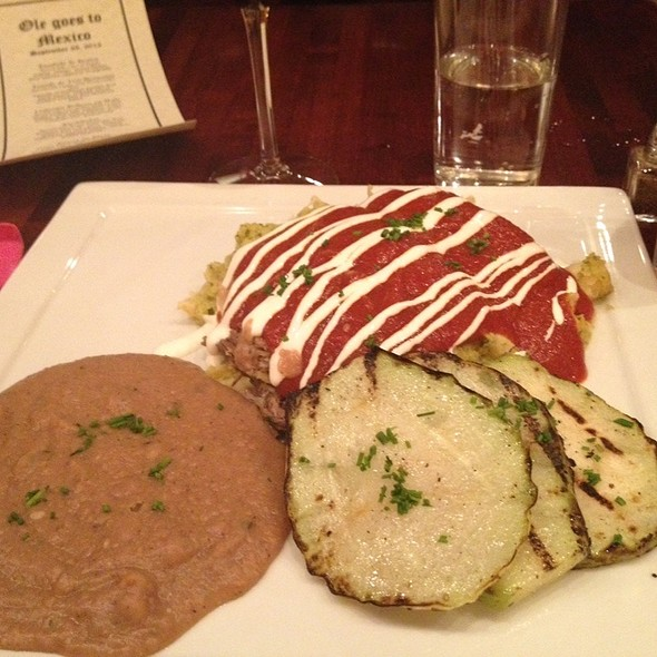 Braised Short Rib Enchiladas - Ole Tapas Lounge & Restaurant, Newark, DE