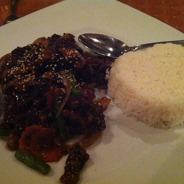 Crispy Spicy Soy Beef