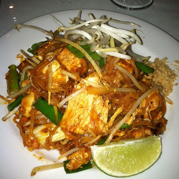 Pad Thai - Thai Time Restaurant & Bar, San Carlos, CA