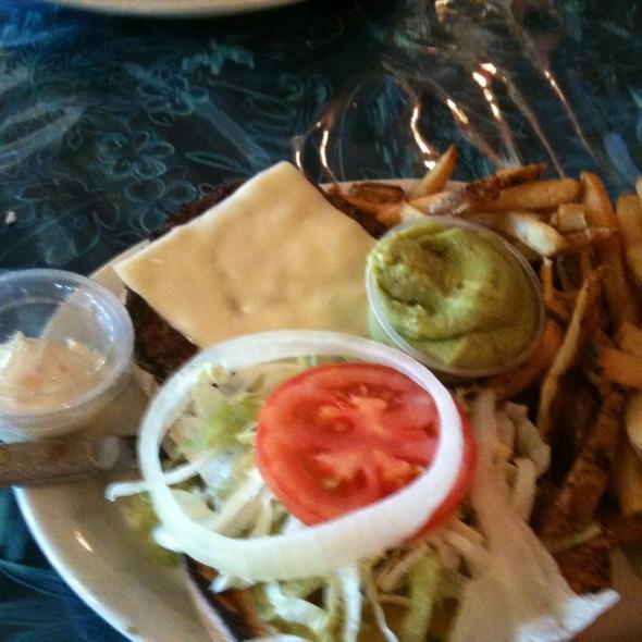 Avacado Swiss Burger @ 620 Cafe & Bakery