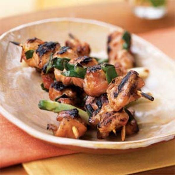 Yakitori Chicken Sticks @ Toriki
