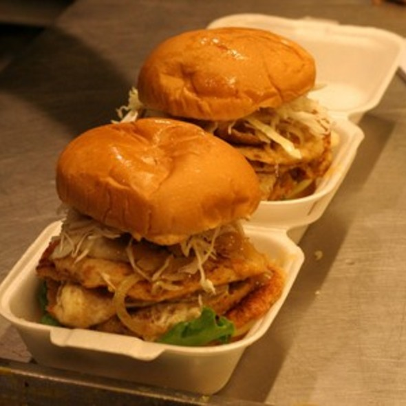 Famous Mushroom Ramli Burger Special @ Burger Shop