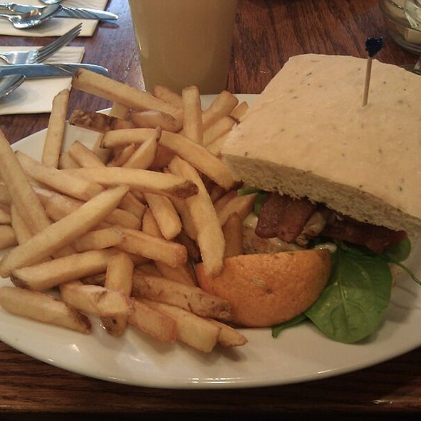 Provence Chicken Sandwich @ First Street Haven Restaurant