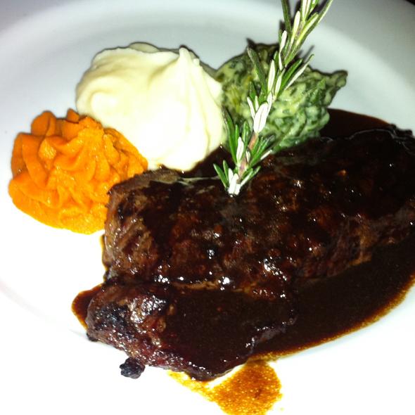 """Maxwell's Special"" New York Steak - Cicada, Los Angeles, CA"