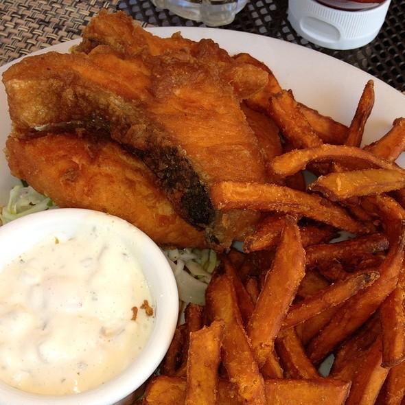 Salmon Fish N Chips - Marston's, Santa Clarita, CA