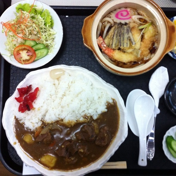 Curry Rice Lunch Set