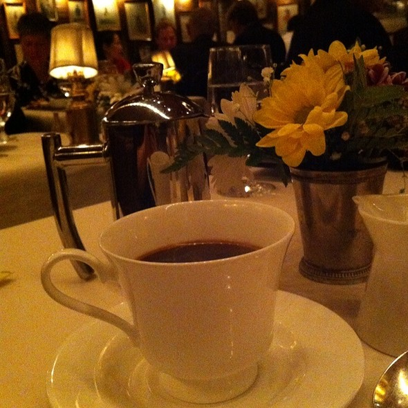 Decaf Coffee - 1789 Restaurant, Washington, DC