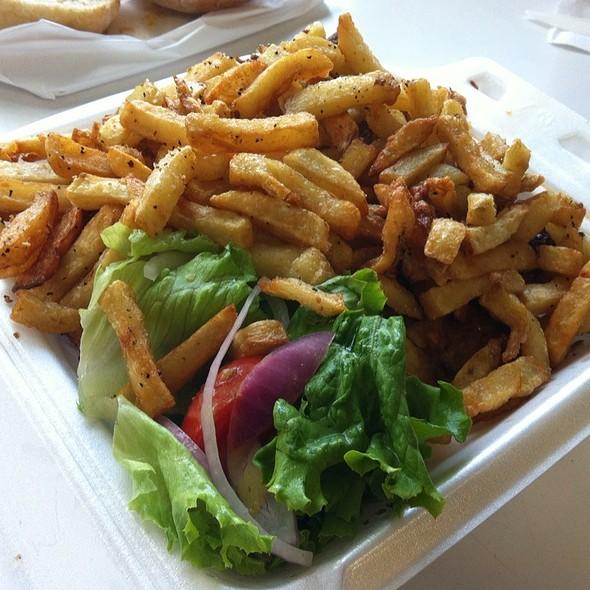 1/2 Chicken W/ Fries