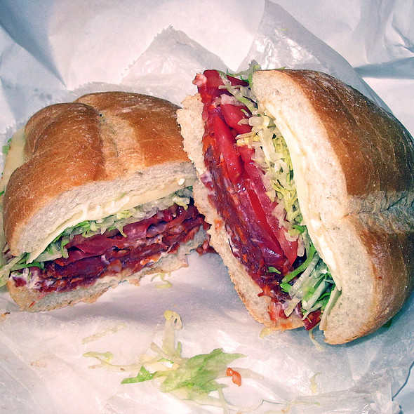 Portuguese Chorizo Sandwich @ M&O Market