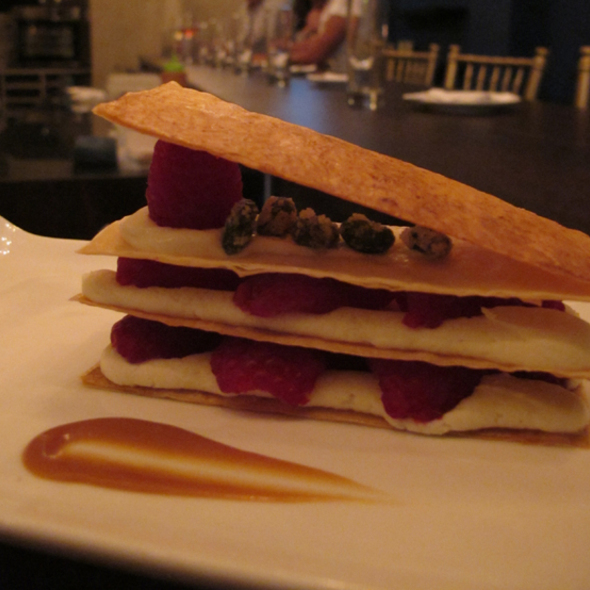 Raspberry napoleon @ Riquiqui Dessert Bar