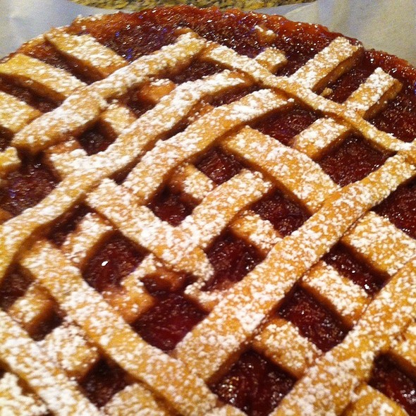 Strawberry Crostata @ The Fat Tuscan Cafe