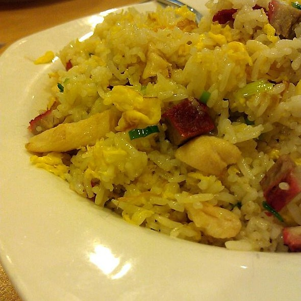 Pork And Egg Fried Rice @ Fu Fu Cafe