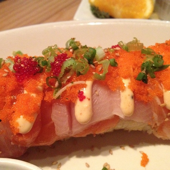 Firecracker Roll @ The Cowfish Sushi Burger Bar