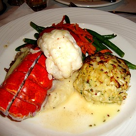 Surf & Surf - Lobster Tail & Crab Cake