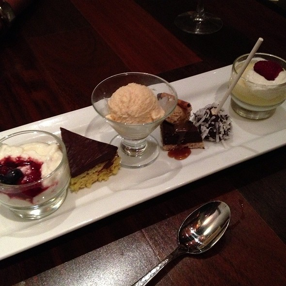 Dessert Tasting For Two