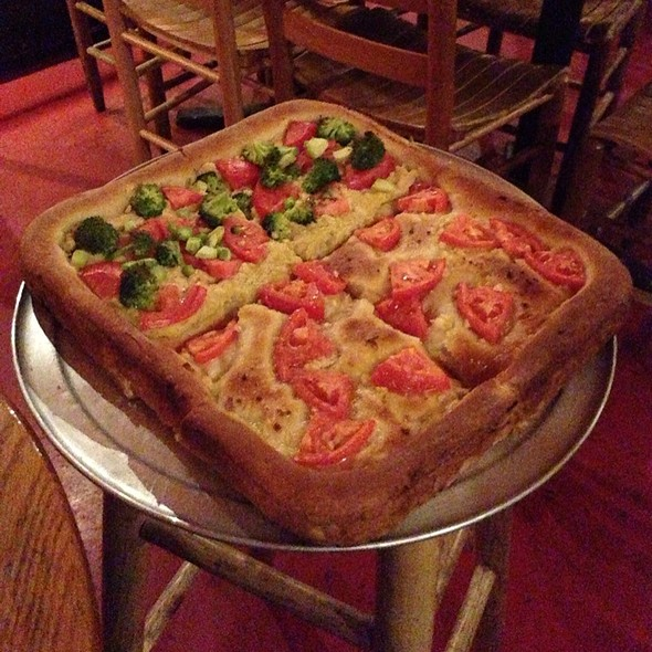 Deep Dish Pizza @ Nines the