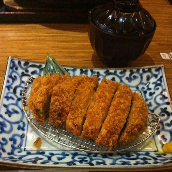 黒豚Toro里肌肉套餐 @ 杏子日式豬排(復興店)