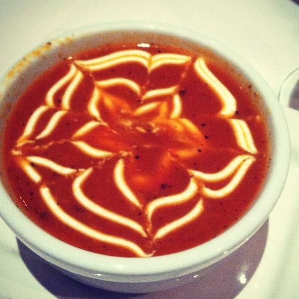 Tomato Red Pepper Soup - Dewz, Modesto, CA