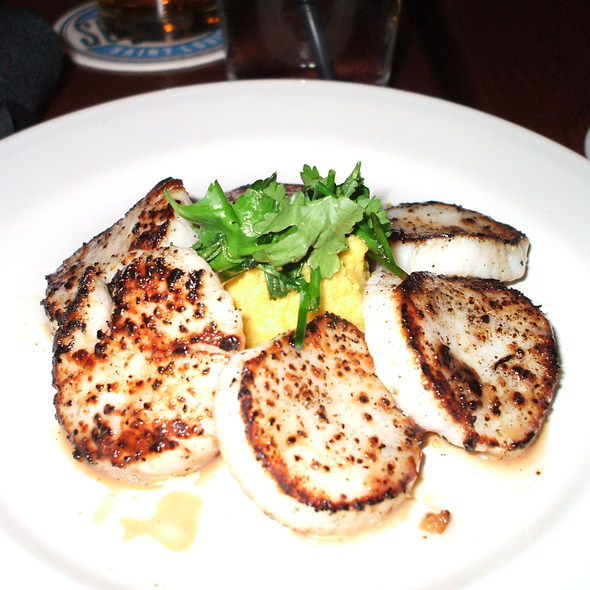Seared Scallops @ South of Beale
