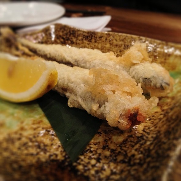 Deep Fried Shishamo @ Chou Izakaya