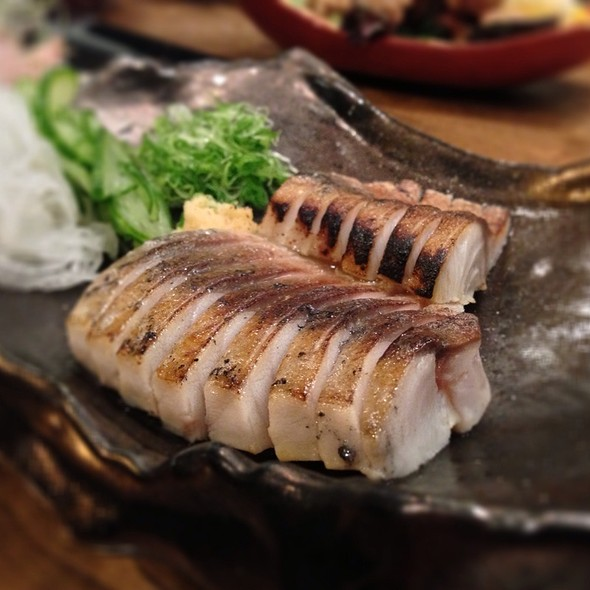 Seared Saba @ Chou Izakaya
