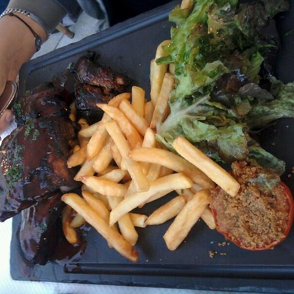 Travers De Porc Caramelisé Sauce BBQ