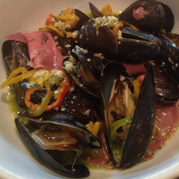 Mussels And Veal Tongue